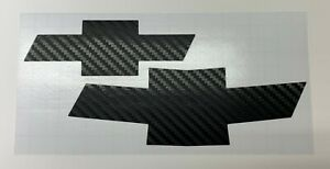 2010-2013 Chevrolet Camaro Grille & Trunk carbon fiber bow-tie decal sticker