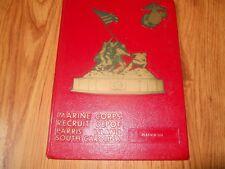 MARINE CORPS REXCRUIT DEPOT  Parris Island - Platoon 104  5/77     HC