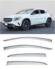 For Mercedes 15-Up X156 GLA250 GLA45 | WellVisors Side Window Visors Rain Guards