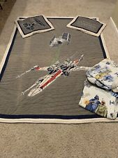 Pottery Barn Kids Star Wars Sheets Full Size With Quilt And Sham. Clean Home