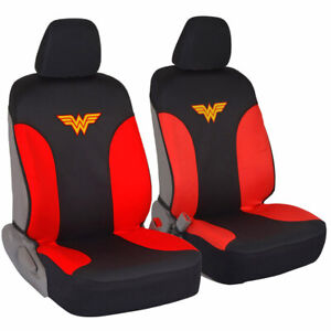 Wonder Woman Car Seat Covers Neoprene 100% Waterproof - Auto Accessory