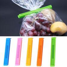 5X Food Storage Bag Clips Food Freezer Fridge Sealing Pegs
