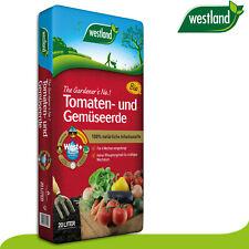 Westland 20 l Tomaten- und Gemüseerde »Die Nummer 1 für den Garten in England«