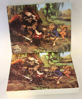 Vintage Wooden Wind In The Willows 1982 Arrow 50 Piece Jigsaw 100% Complete