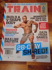 TRAIN bodybuilding muscle magazine KRIS GETHIN & ASHLEY AZEVEDO 12-16