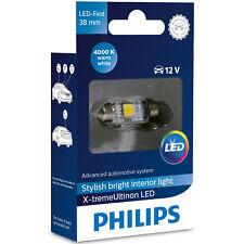 C5W Philips X-treme Ultinon xtremeultinon Festoon LED Bulb 4000K 38mm (Single)