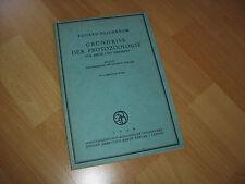 Grundriss der Protozoologie für Ärzte und Tierärzte Reichenow 1946  sauber