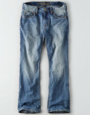 American Eagle Men's Classic Bootcut Jeans - Light Wash - 38x34 - NWT
