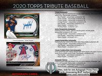 2020 Topps Tribute Baseball Hobby Live Random Player 1 Box Break #2