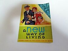 Vintage A New Way of Living 1932 the Kellogg Company No. 233 Booklet