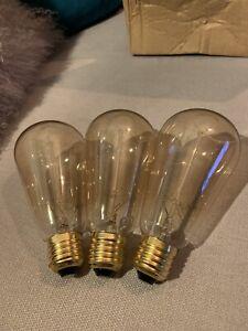 e27 vintage edison bulb