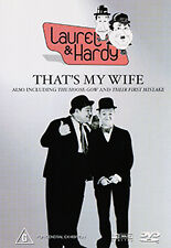 Laurel & Hardy THAT'S MY WIFE / THE HOOSE-GOW / THEIR FIRST MISTAKE - 3 FILM DVD