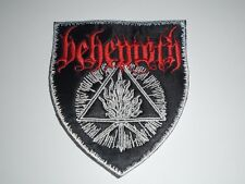 BEHEMOTH FUROR DIVINUS EMBROIDERED PATCH