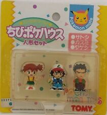 Pokemon Mate Japan TOMY Team ASH / MISTY / BROCK figures set
