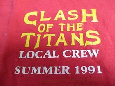 1991 CLASH OF THE TITANS (XL) Tank Top MEGADETH SLAYER ANTHRAX ALICE IN CHAINS
