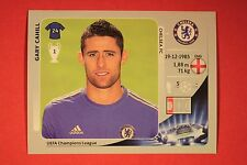 PANINI CHAMPIONS LEAGUE 2012/13 N. 305 CAHILL CHELSEA BLACK BACK MINT!