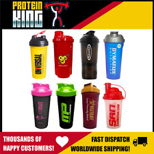 MYSTERY PROTEIN SHAKER CUP BOTTLE - RANDOM SIZES COLOURS & SHAPES!