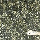 """Sedona Mottled Camo Green 100% Cotton Fabric  1/2 Yard  @ 18"""" x 44""""   #4095 GG"""