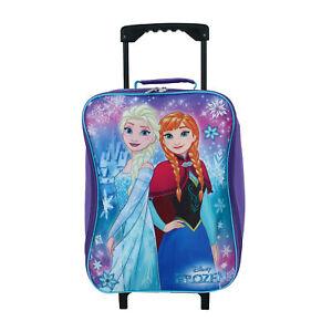 New Disney Girl's Frozen Rolling Luggage