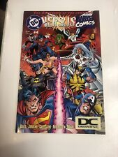 DC Versus Marvel (1996) # 4 DC Universe Logo (VF/NM)
