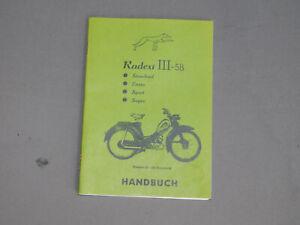 Express Radexi III-58 Handbuch Betriebsanleitung Bedienungsanleitung
