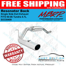 MBRP Single Side Exit Exhaust for 00-06 Tundra 4.7L Resonator Back S5330409