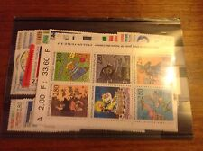 France complete year set 1993 MNH 66 stamps