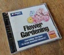 Expert Software - Flower Gardening - Windows 95 PC CD-ROM BRAND NEW & SEALED!