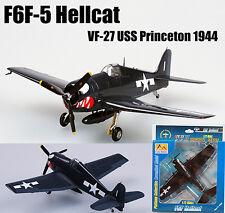 US F6F-5 Hellcat VF-27 USS Princeton 1944 1/72 no diecast plane Easy model