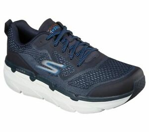 Skechers Shoes Navy Sport Comfort Casual Walk Max Cushioning Men's Light 54450
