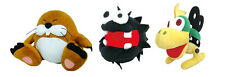 Little Buddy Set of 3 Super Mario Stuffed Plush - Monty Mole/ Fuzzy/ Mecha Koopa