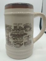 Stein Kansas City Mo Souvenir Beer Ceramic Japan Vintage Mug Drinking Bar