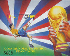 PERU : 1998 World Cup Football Championship min sheet SGMS1950 MNH