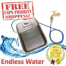 Water Fountain Bowl AUTOMATIC Float Valve DOG CAT ANODIZED ALUMINUM NEVER EMPTY