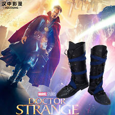 HZYM Doctor Strange Steven Cosplay Boots Marvel Dr. Strange Shoes Men Halloween
