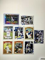 Mookie Betts Card Lot (10) Los Angeles Dodgers 2021 Topps Series 1 Blue Border