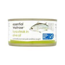 Tuna Steak In Olive Oil essential Waitrose 200g
