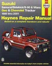 Haynes SUZUKI VITARA (99-01) JLX Owners Service Repair Workshop Manual Handbook