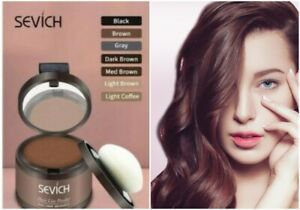 Sevich Waterproof Hair Powder Concealer, Quick Cover Grey Hair Root Concealer