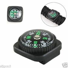 For Survival Compass  Paracord Bracelets Rope Slip Slide on Watch Band Wrist