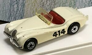 Matchbox INT'L cream Jaguar XK120 NM UnBoxed