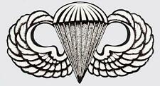 US ARMY AIRBORNE WINGS BASIC 8 INCH STICKER/DECAL - MADE IN THE USA!!