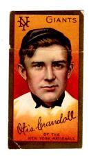 1911 T 205 Otis Crandall Piedmont Cigarette Baseball Series 400