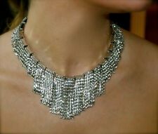 NWT KATE SPADE NEW YORK 'CANDY BITS' CRYSTAL FRINGE COLLAR NECKLACE EXQUISITE!