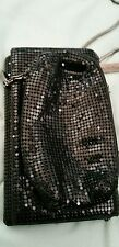 Whiting &Davis blk sequin small bag. Small but mighty! Lots of compartments.
