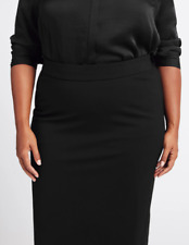 M&S COLLECTION  CURVE Ponte Pencil Midi Skirt