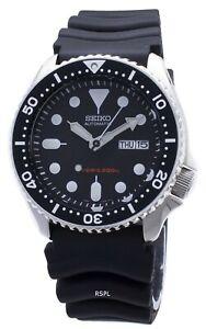 Seiko Automatic Diver SKX007 SKX007K1 SKX007K Rubber Band Men's Watch