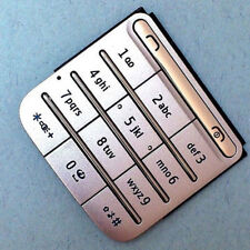 Silver Mobile Phone Keypads