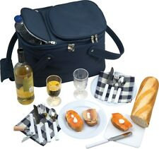 LUXURY PICNIC BASKET BAG WITH COOL BAG FULLY EQUIPPED [3337] 'BAKERSFIELD'
