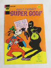 WALT DISNEY SUPER GOOF #33 (1974) BY WHITMAN COMICS FINE (6.0)